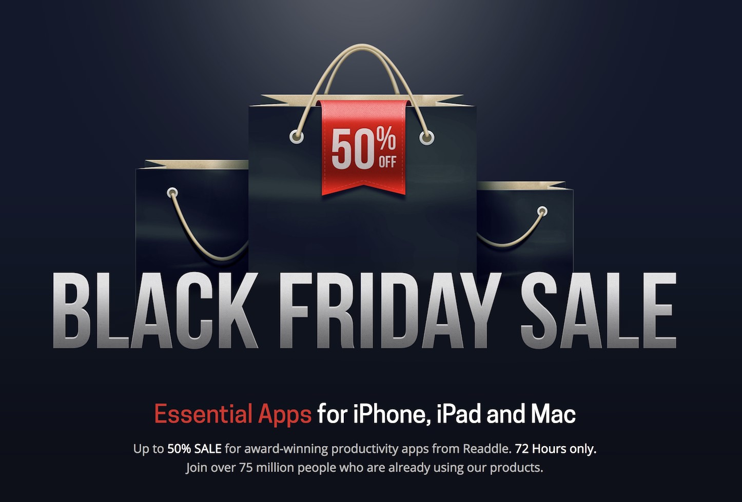 Readdle Black Friday Sale