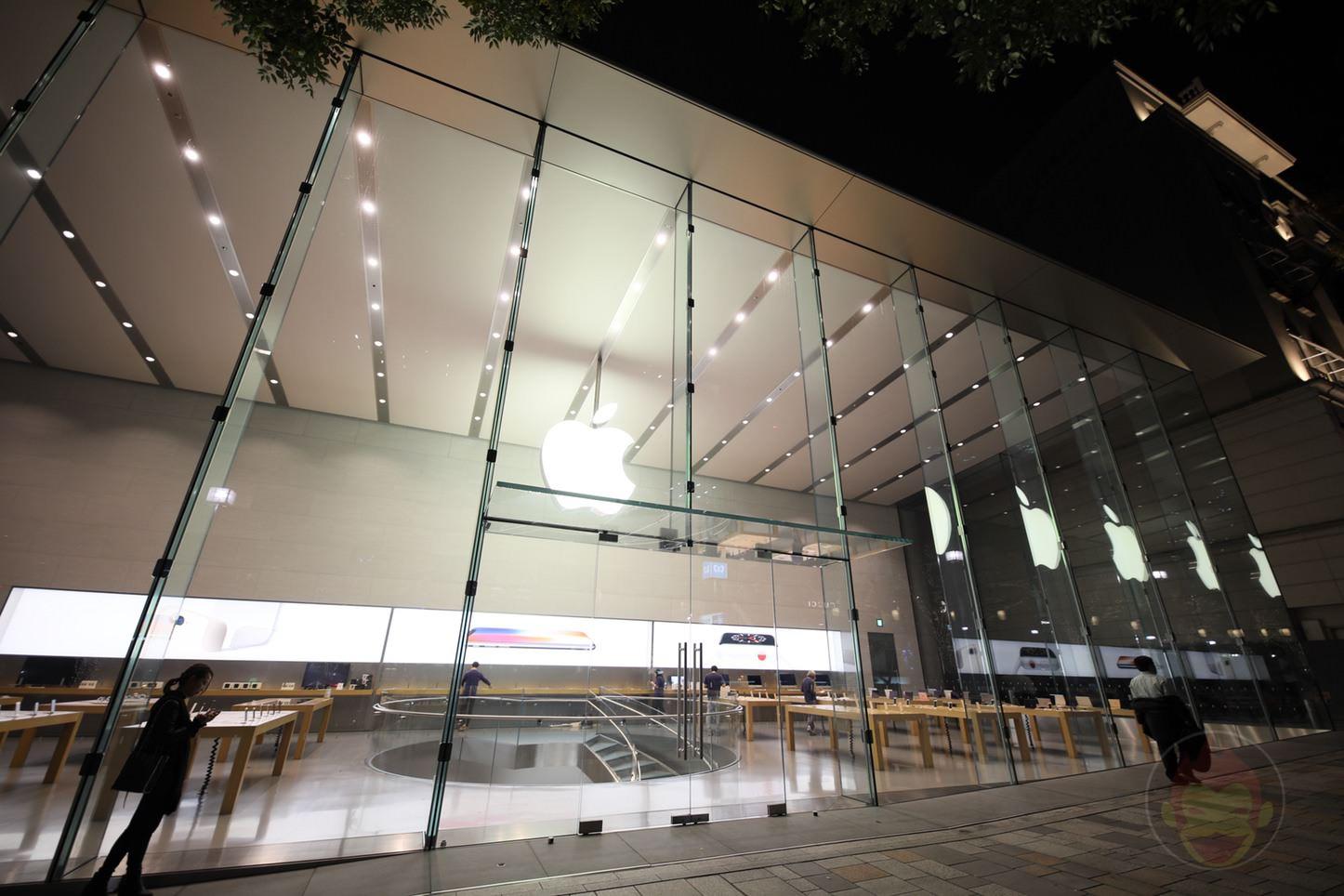 Apple Storeの行列を見に行ってきた