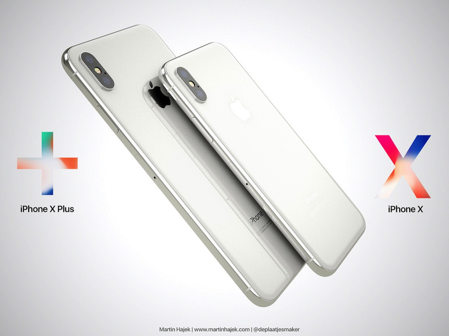 iPhone X Plusのコンセプトイメージ