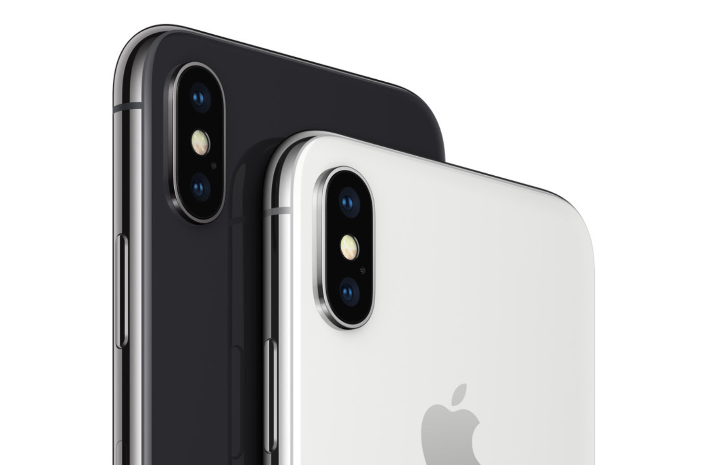 Iphone x silver spacegray camera
