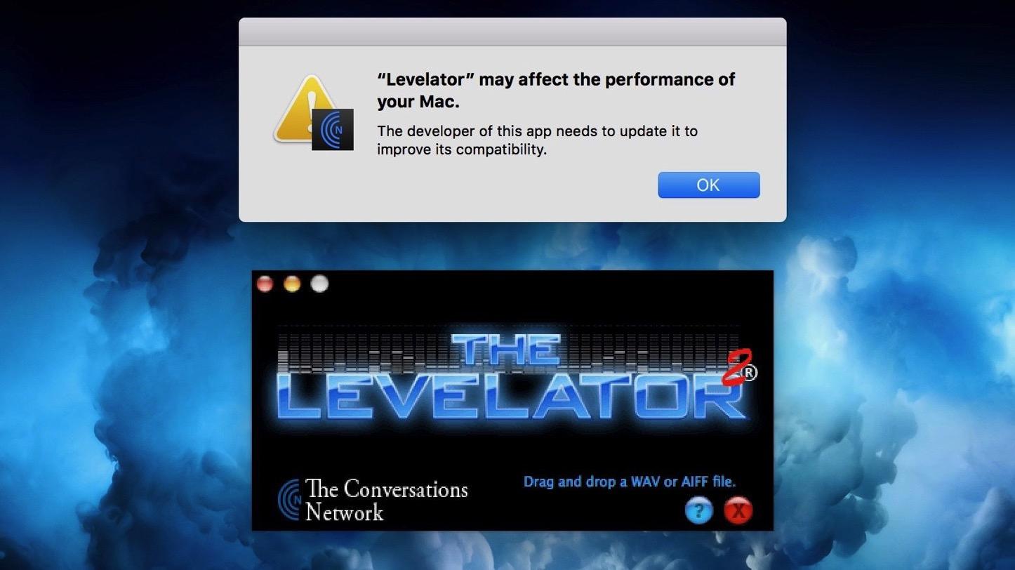 32bit app warning