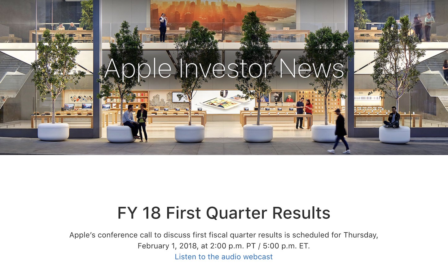 Apple Earnings Call