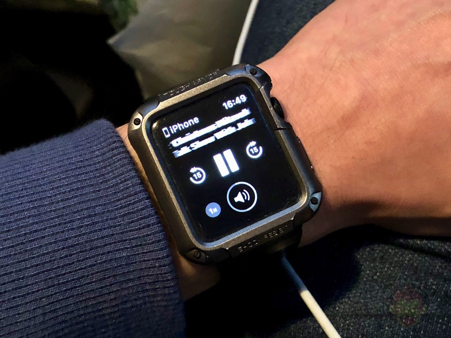 Apple Watch Music Control off 01