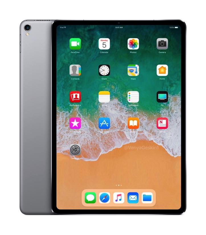 Bezelless iPad Pro Concept