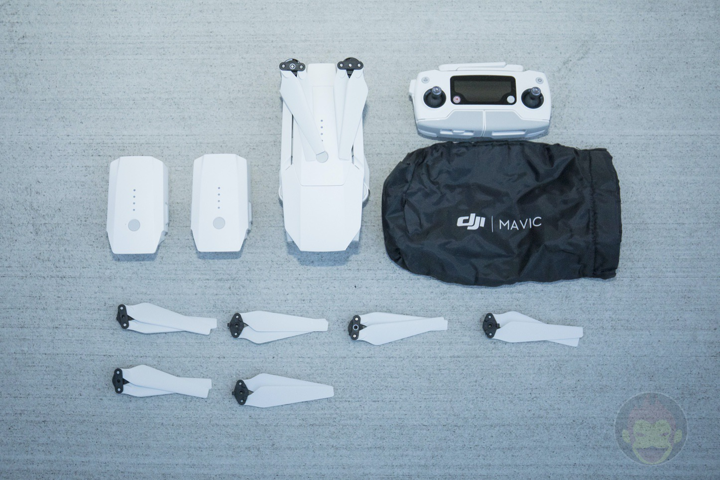 DJI Mavic Pro Alpine White 14