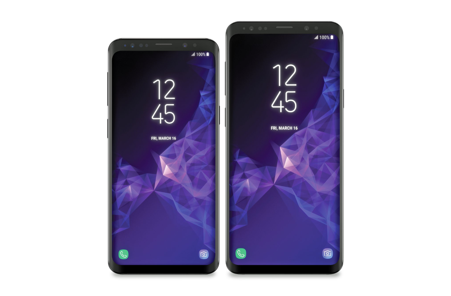 Galaxy S9 Renderings