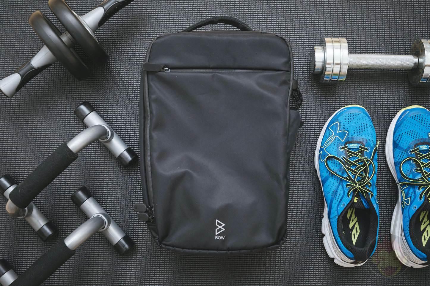 Quiver Gym Splashproof Shoulder Bag 01