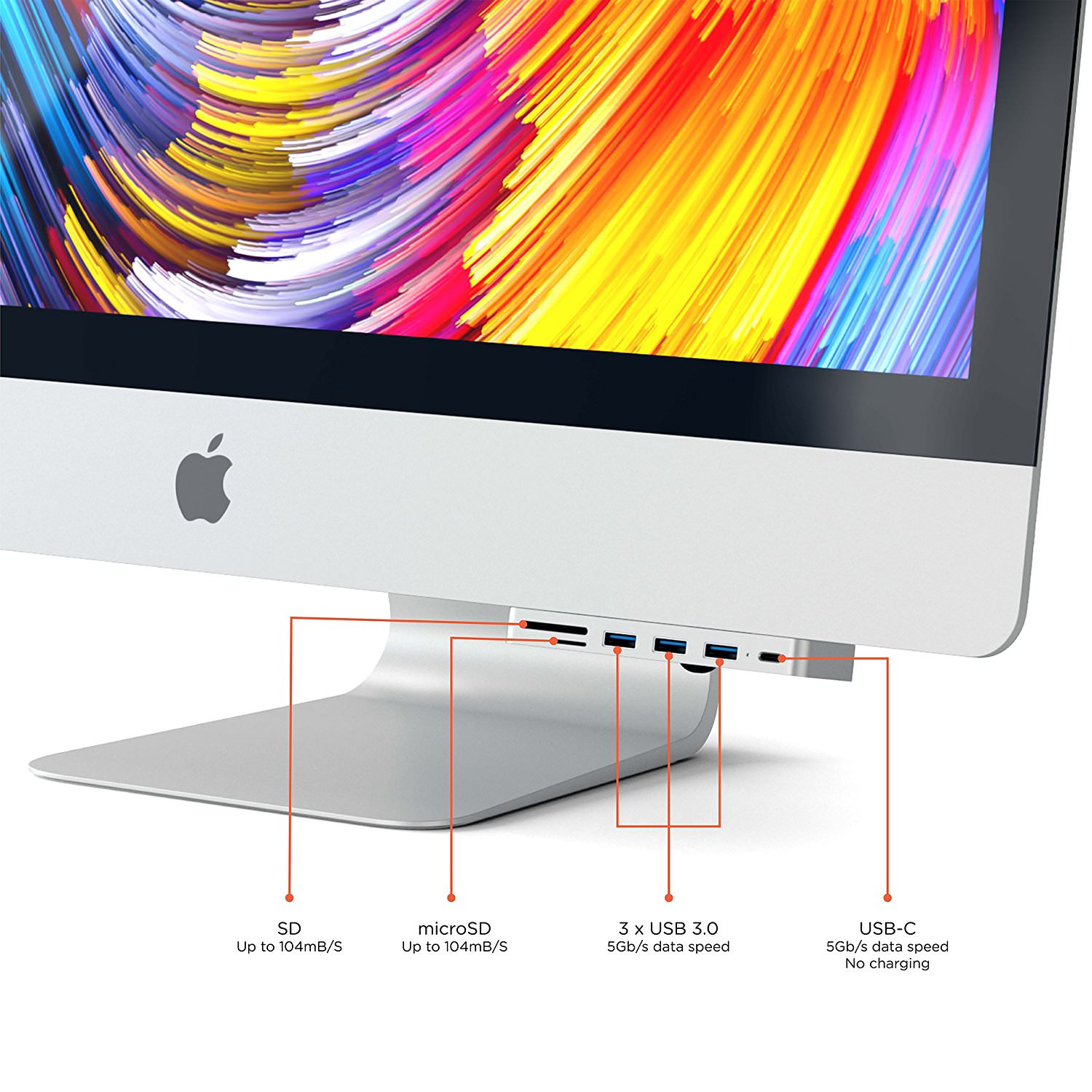 Satechi USB Hub for iMac 1