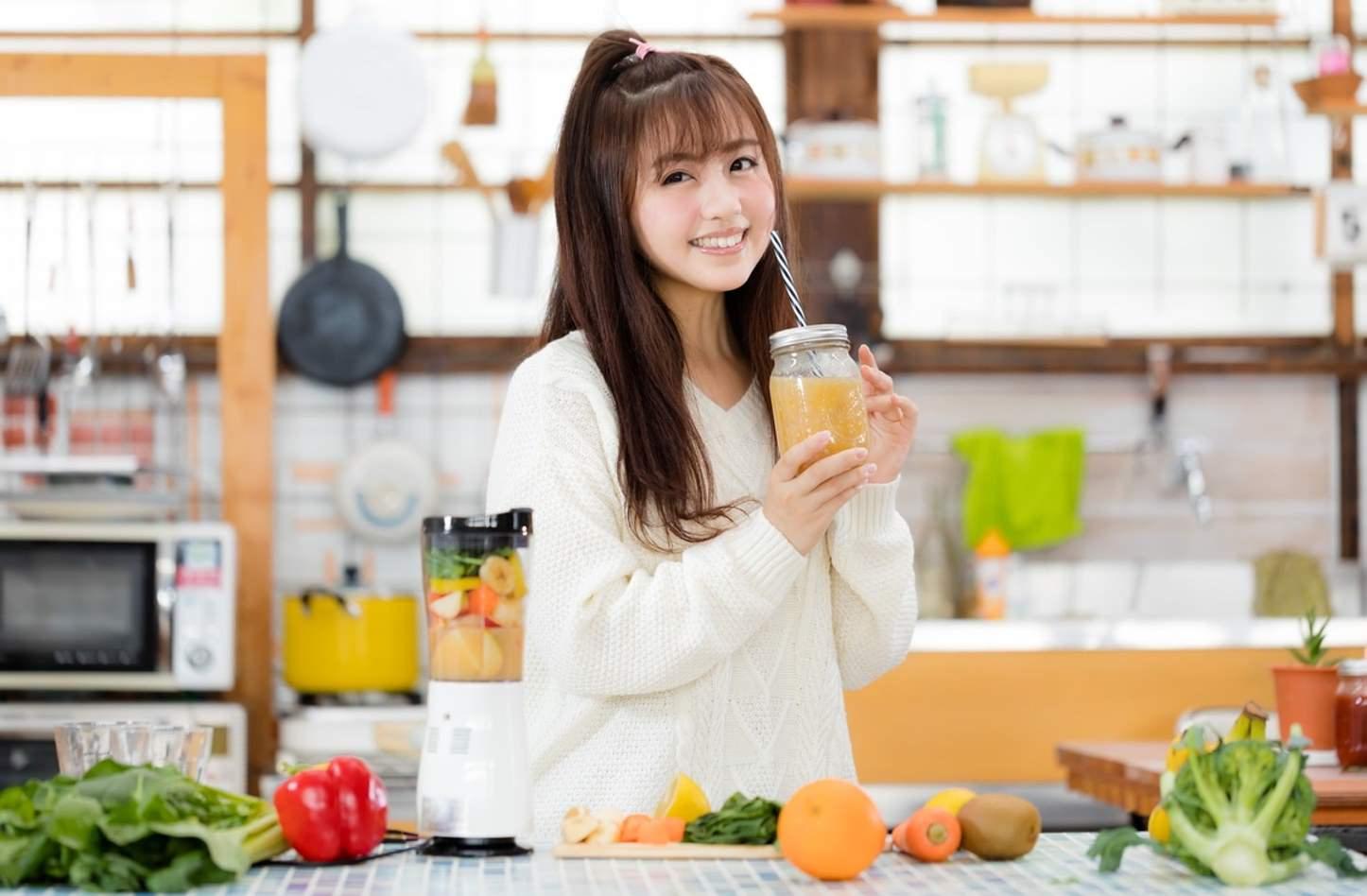 Smoothie Kawamura Yuka Pakutaso 28