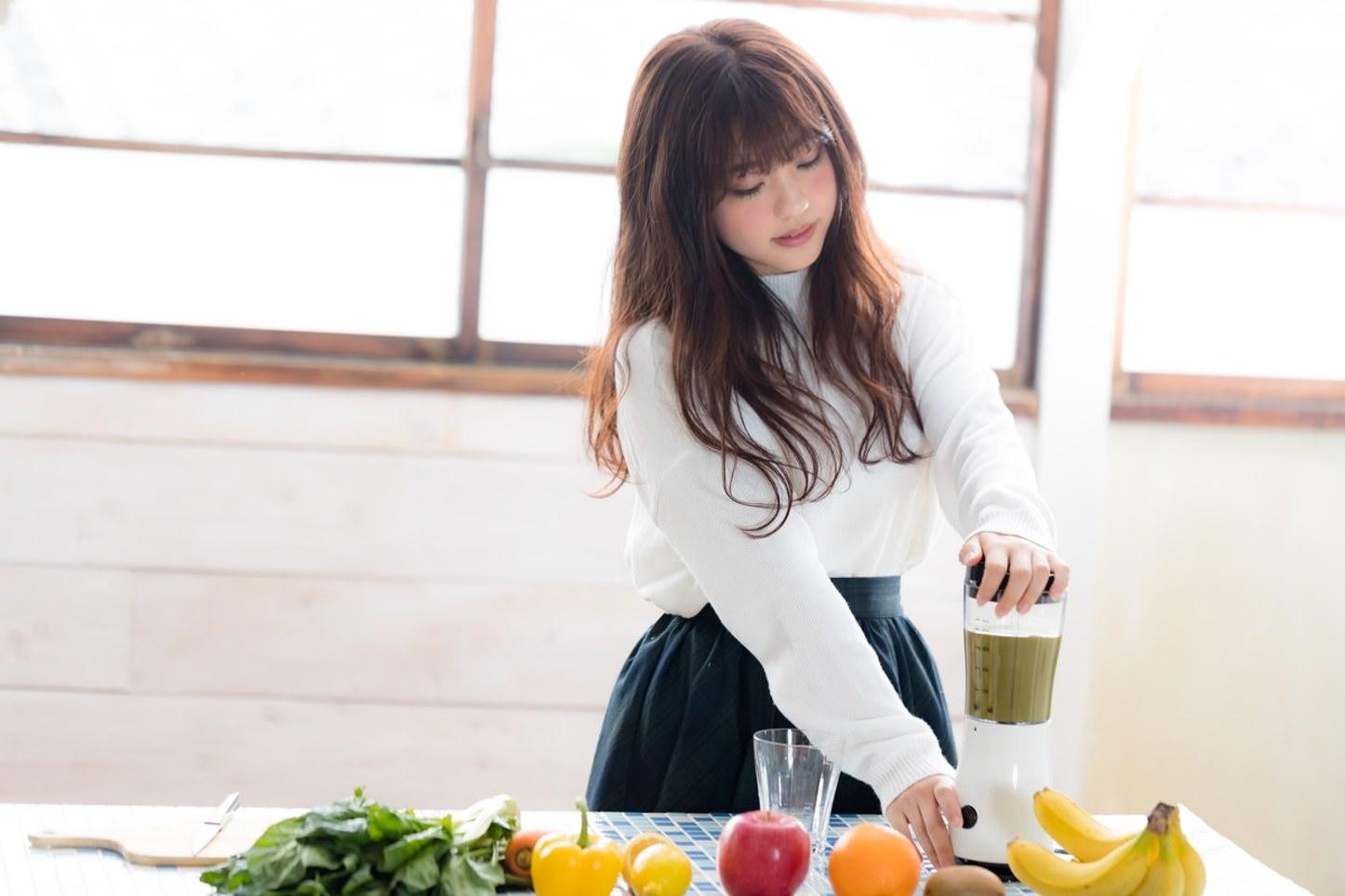 Smoothie Kawamura Yuka Pakutaso 63