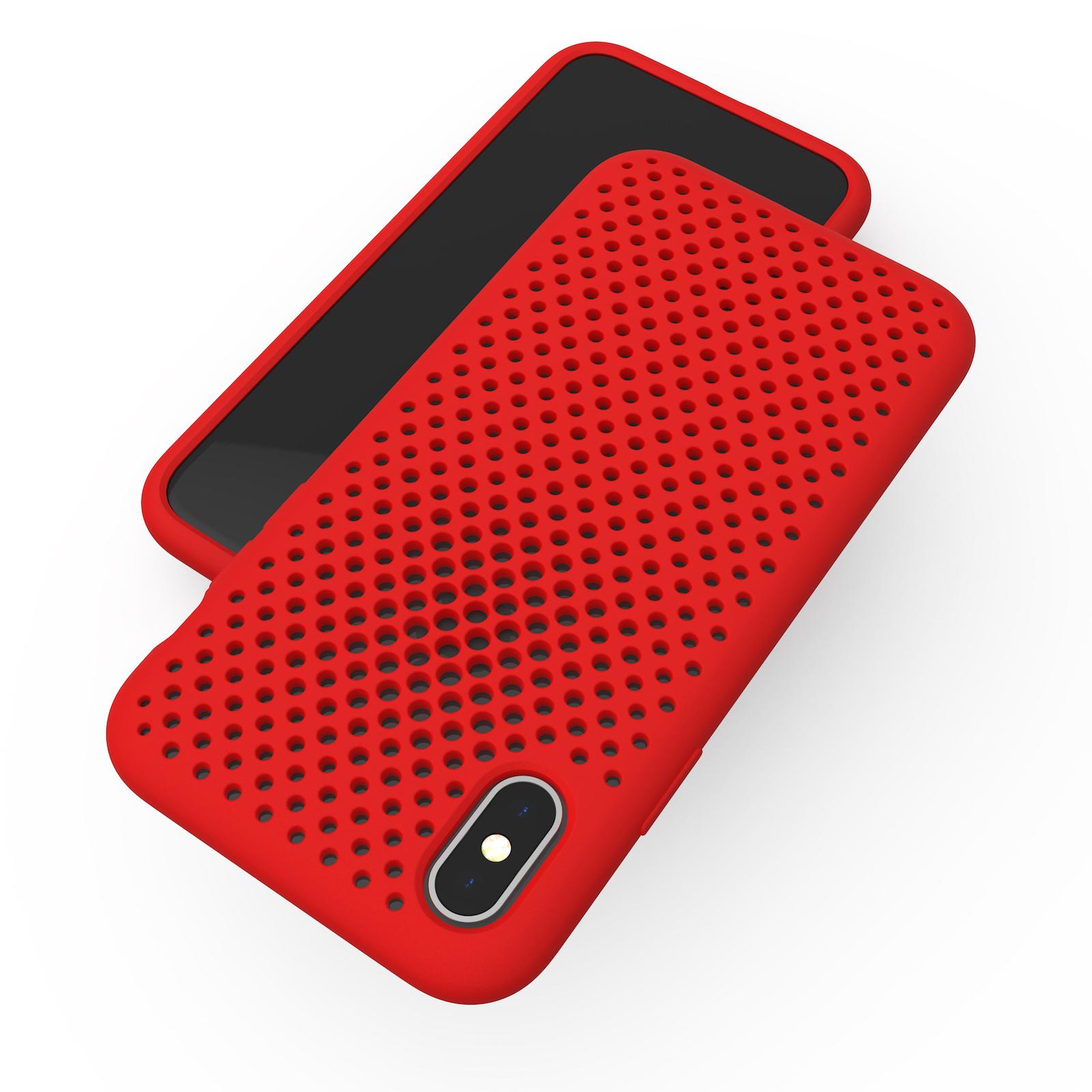 20171115 MeshCase iPhoneX 01 RED