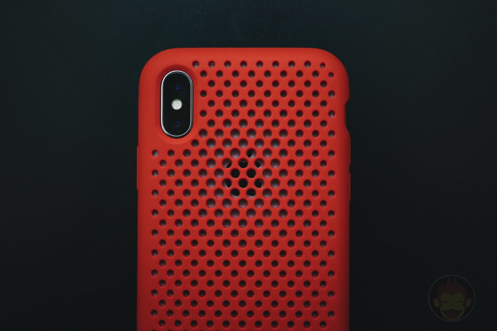 AndMesh Mesh Case for iPhoneX Red Model 01