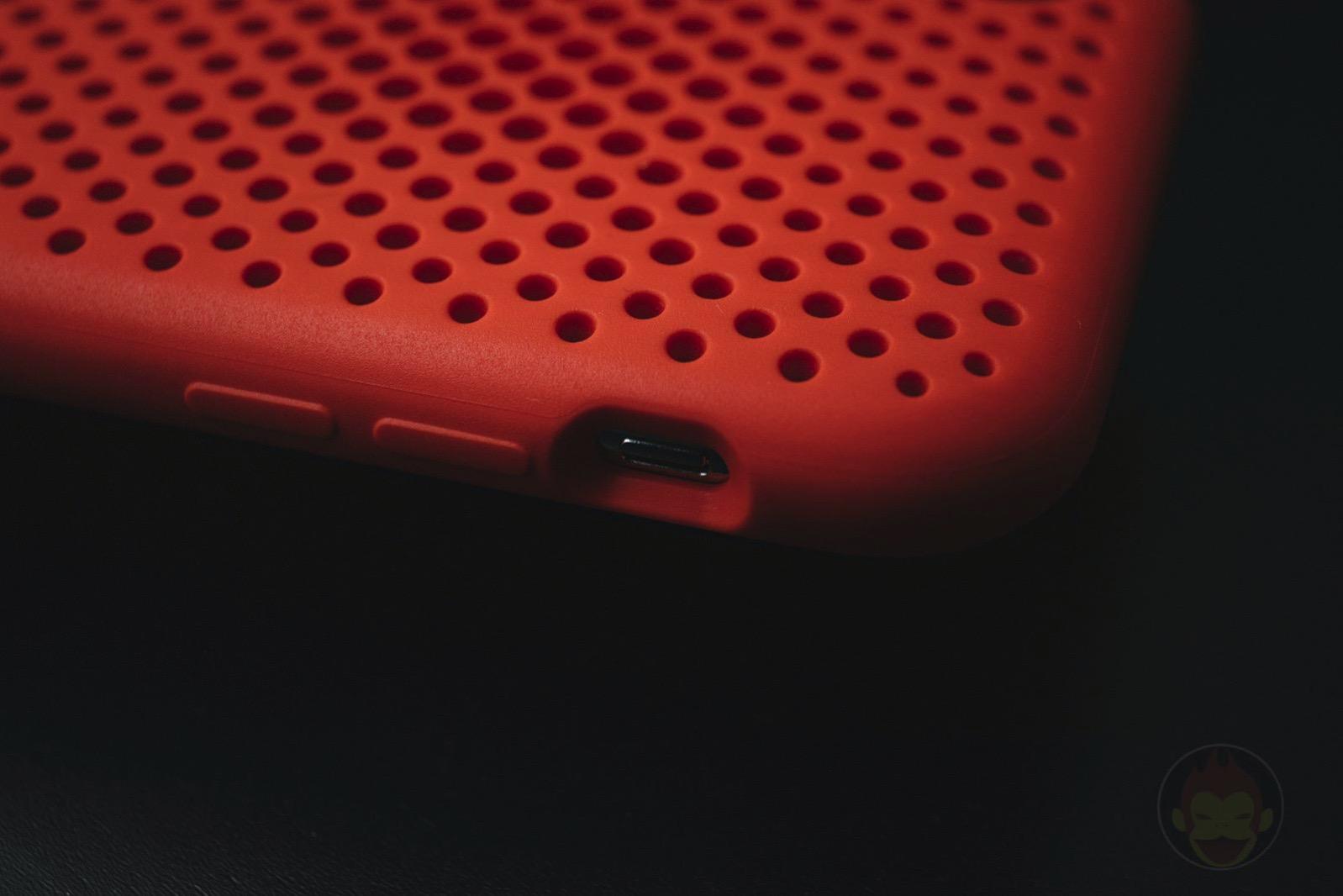 AndMesh Mesh Case for iPhoneX Red Model 04