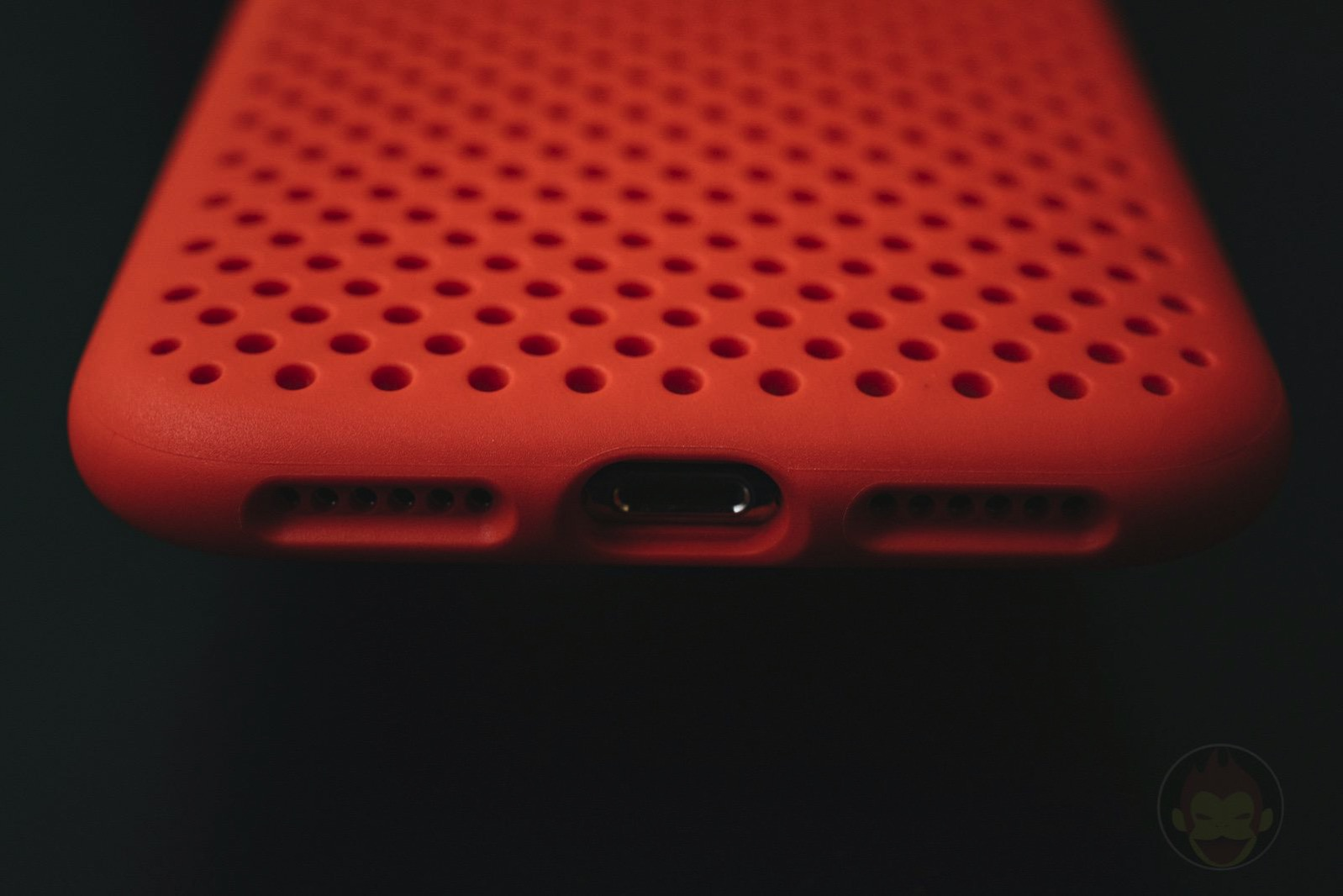 AndMesh Mesh Case for iPhoneX Red Model 05