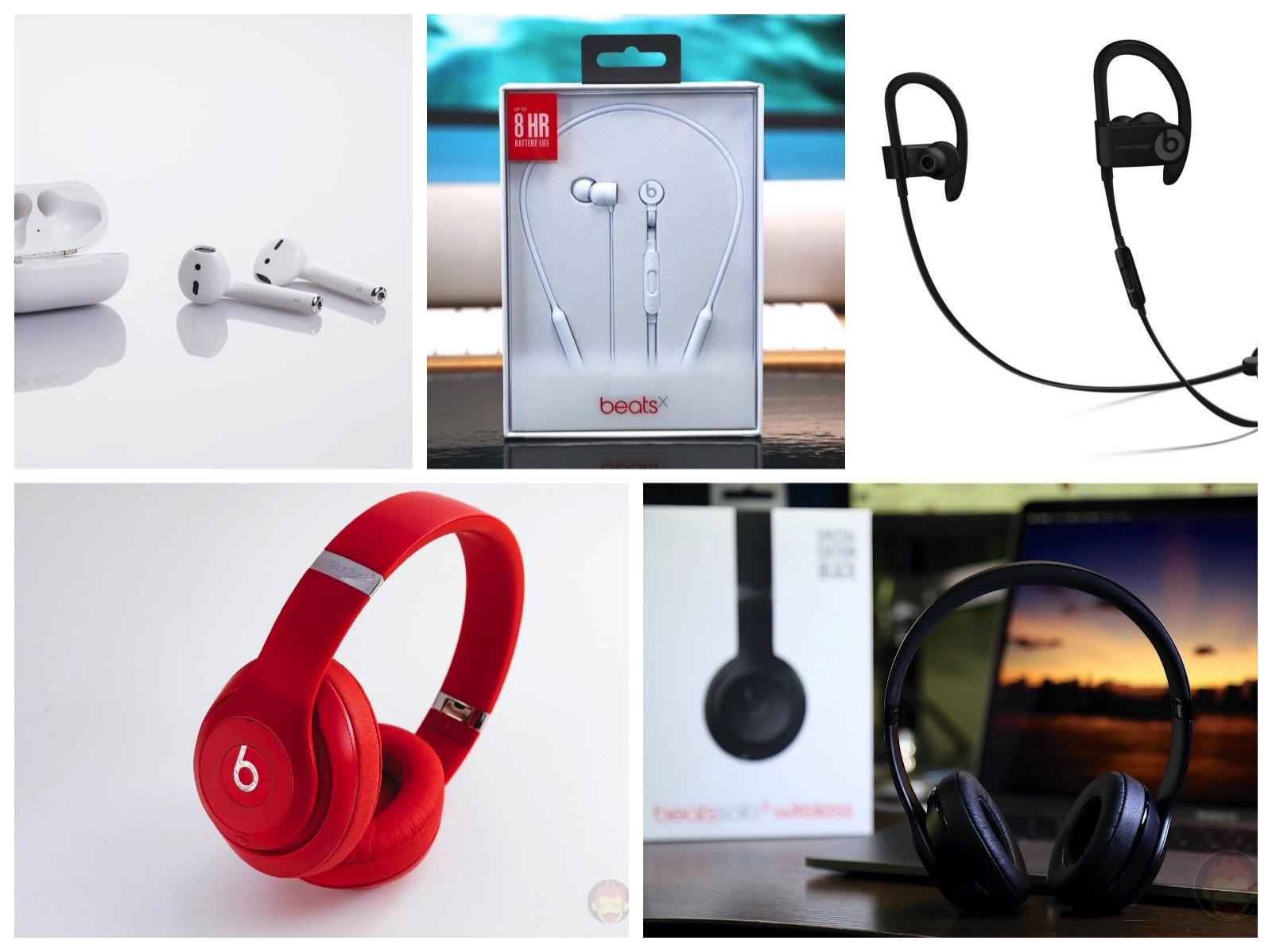 Apple Beats W1 Chip Headphones Earphones 2