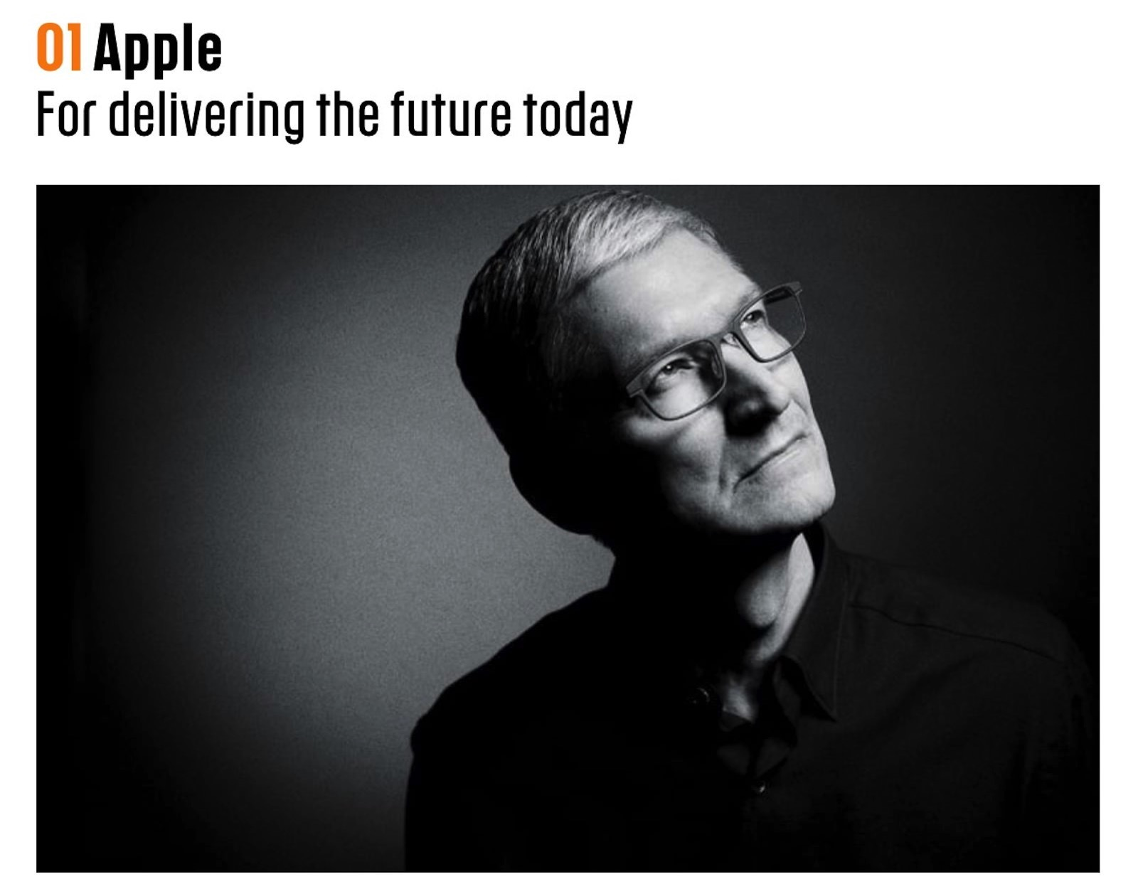 Apple Is Most Innovative Company