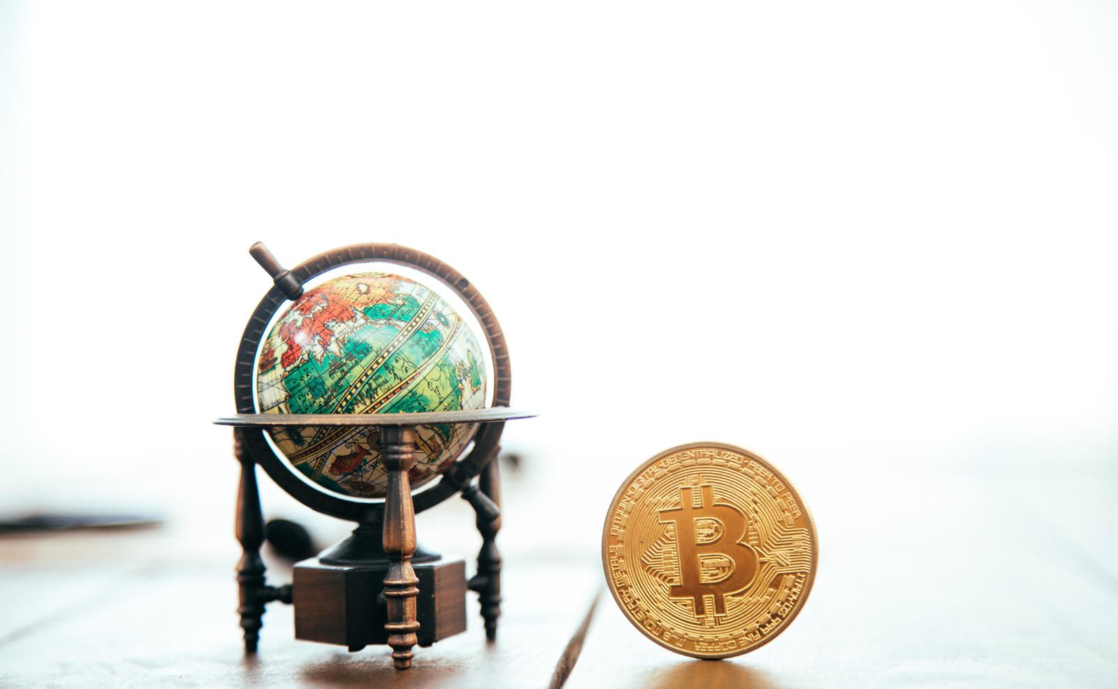 Bitcoin and globe
