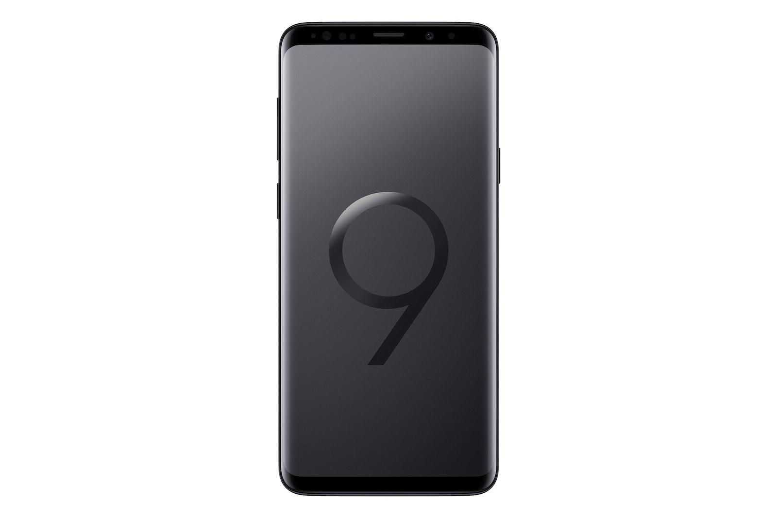 GalaxyS9Plus_Front_Black
