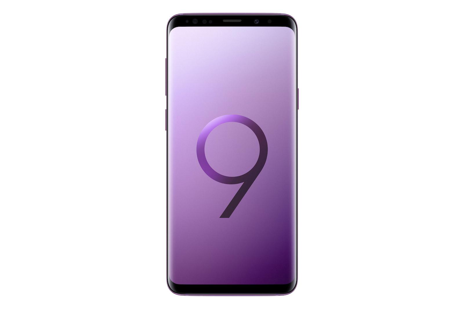 GalaxyS9Plus_Front_Purple