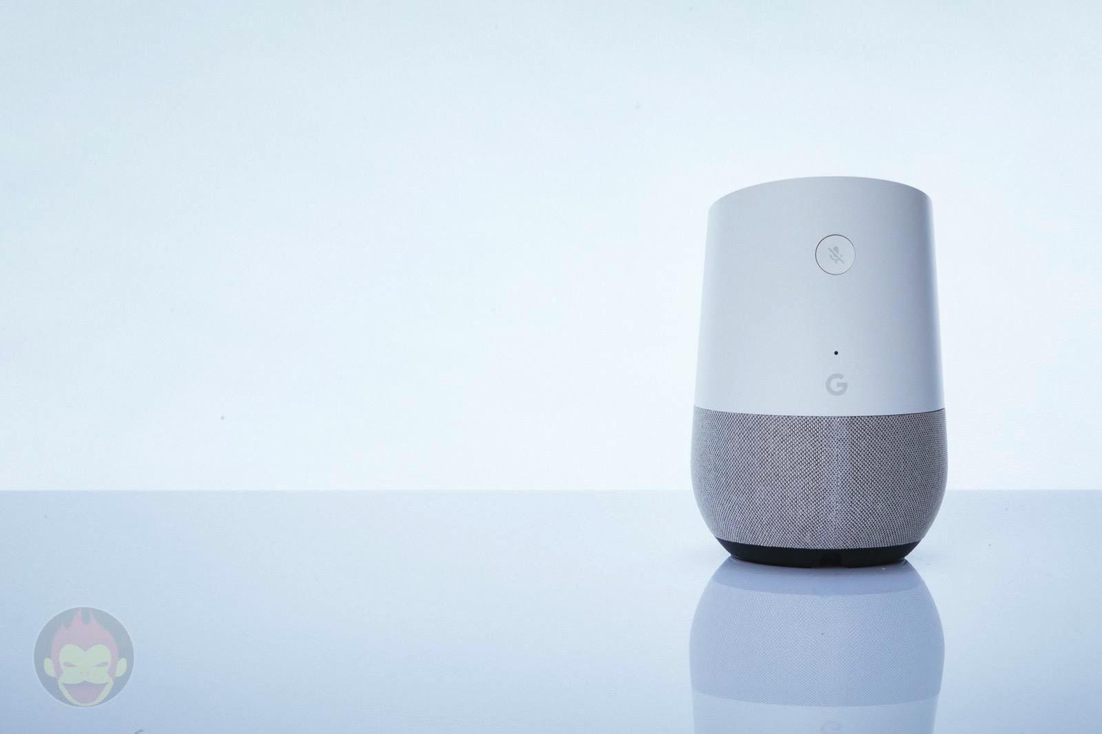 Google Home Speaker 01
