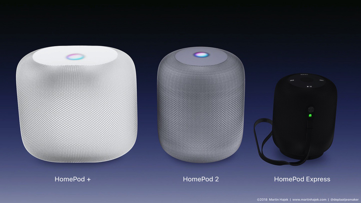 HomePod Plus HomePod 2 HomePod Express MartinHajek 07