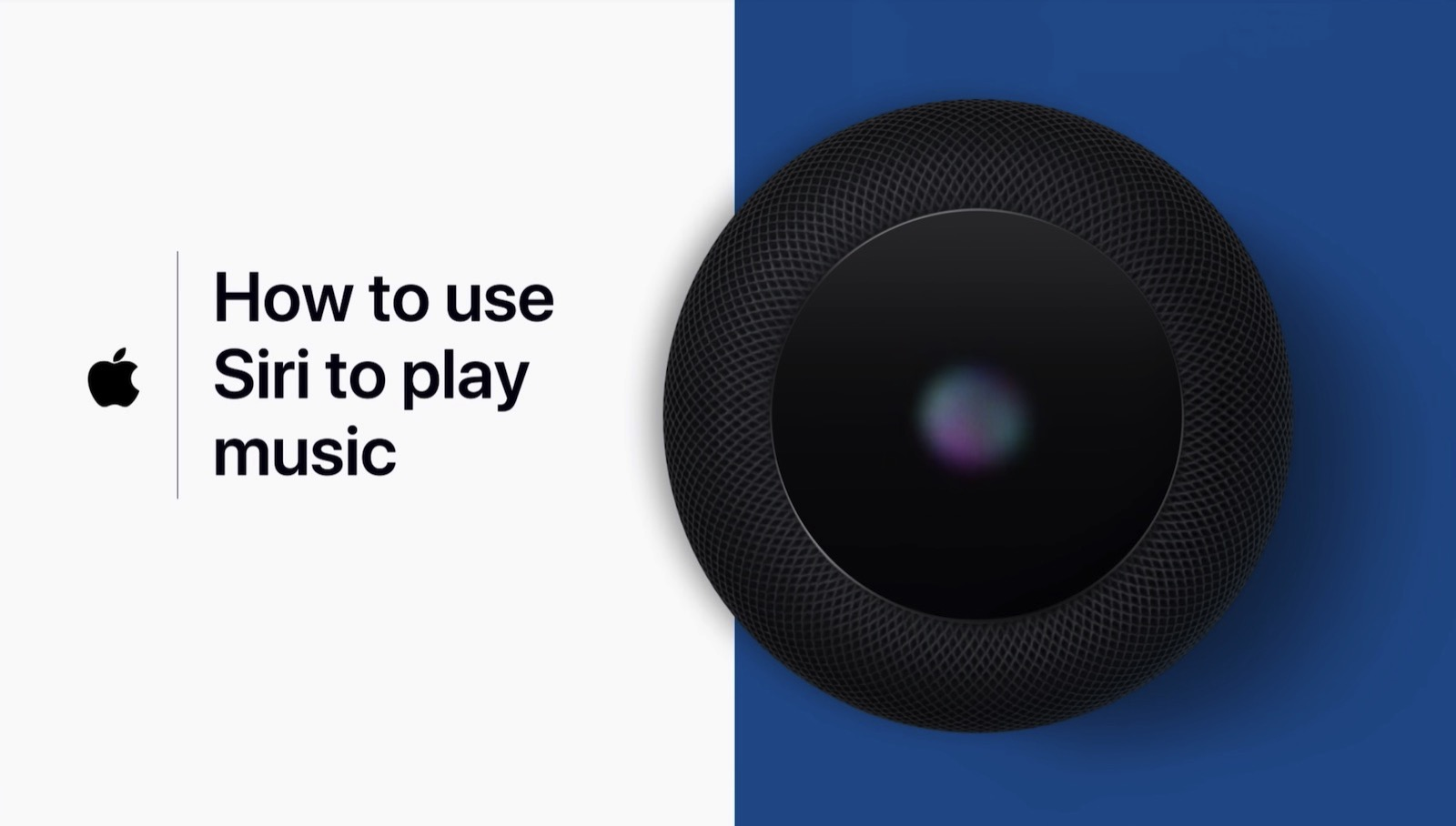 How To Use Siri on HomePod