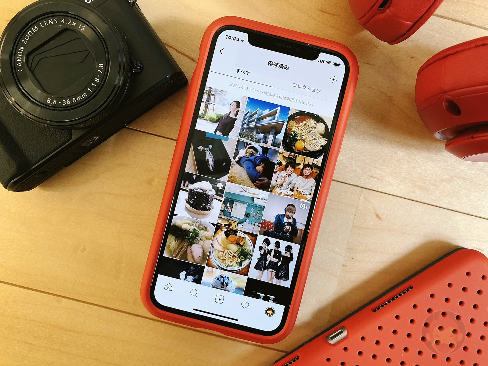 Instagram Profile and Bookmarks 03