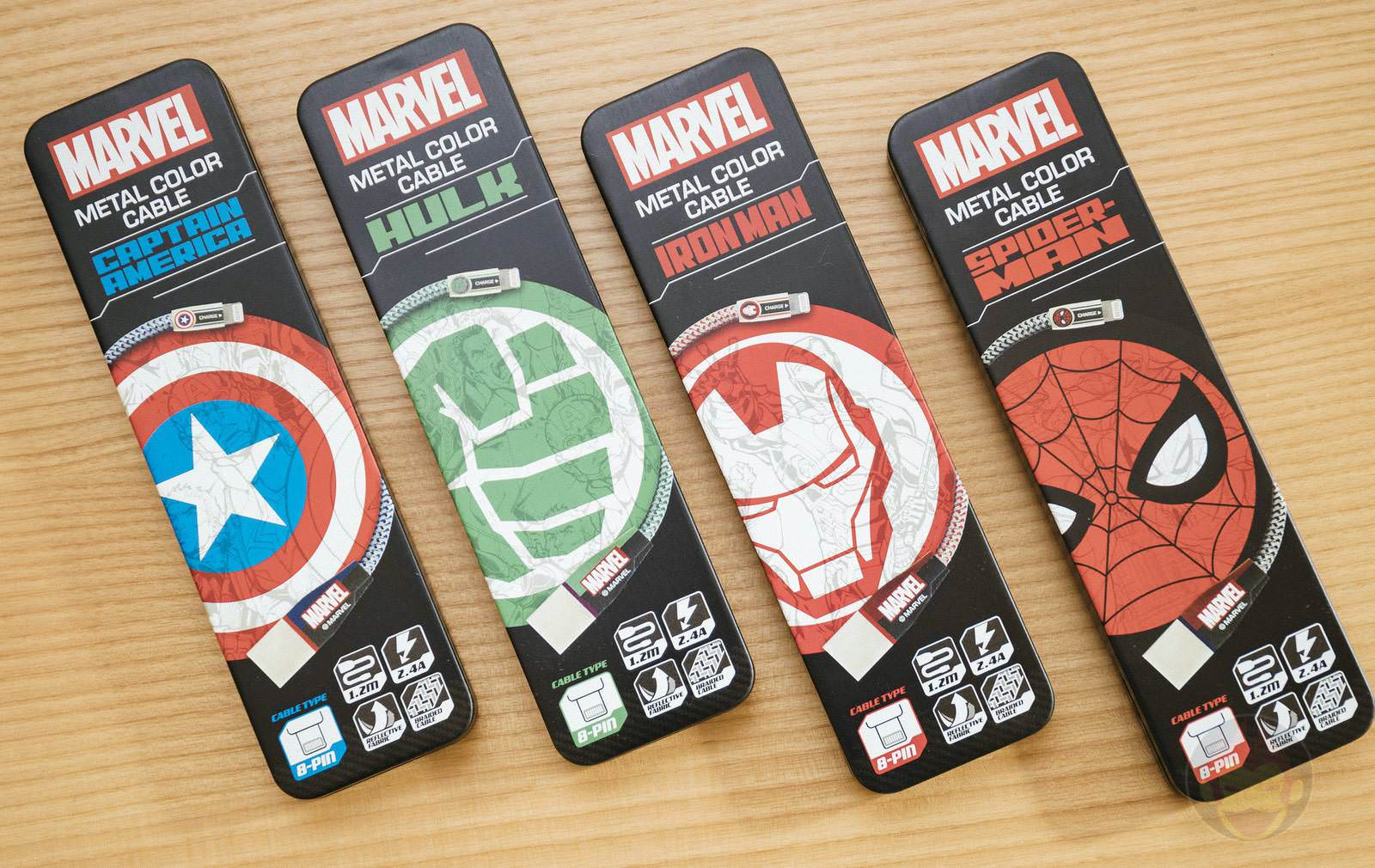 Marvel Lightning USB Cable 05