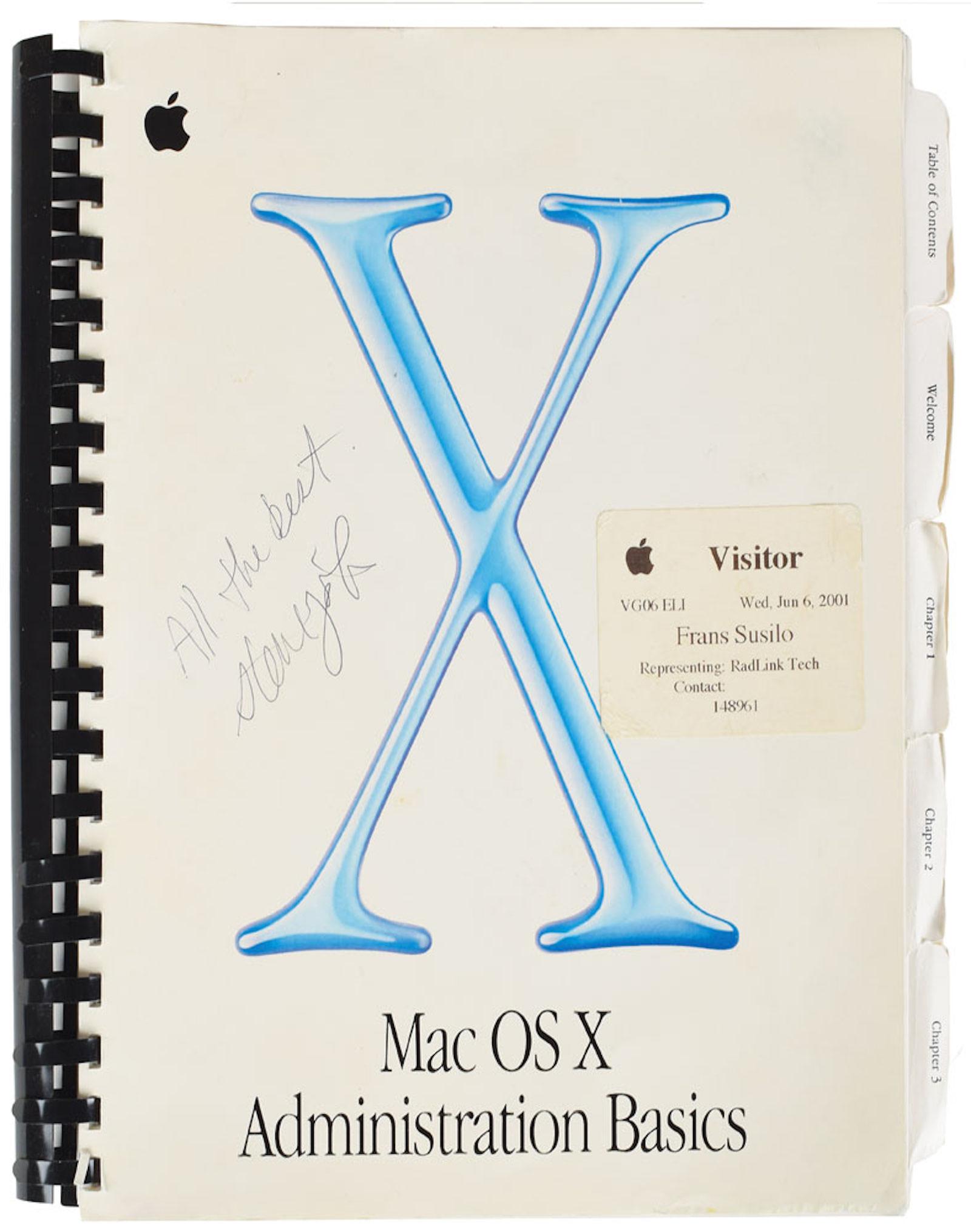 Steve Jobs Manual