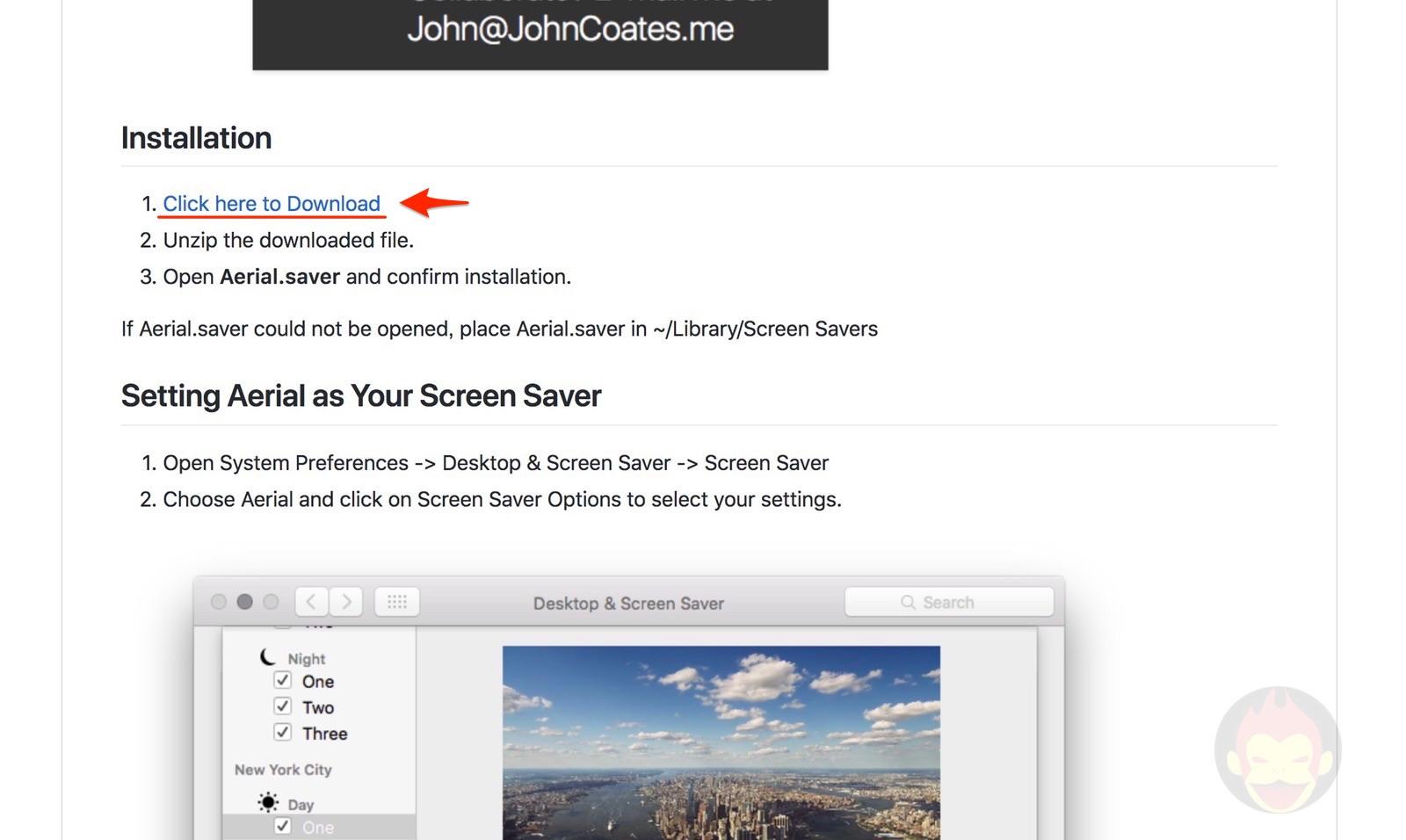 Aerial Screensaver for mac github dl link 01
