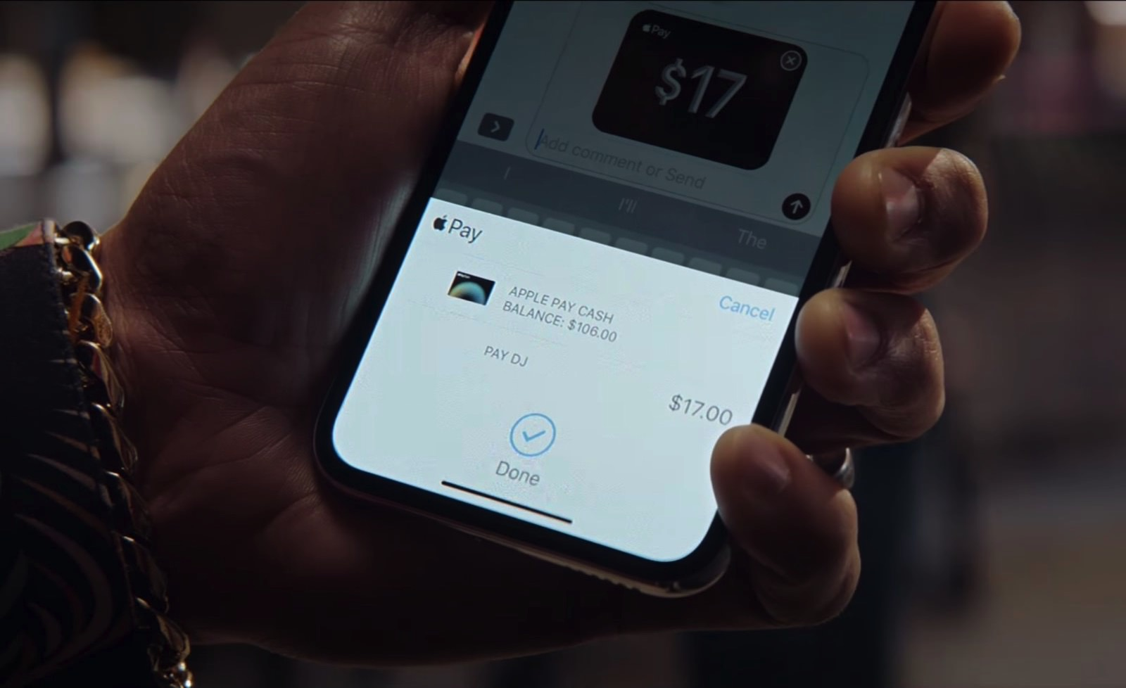 Apple Pay Cash TVCM