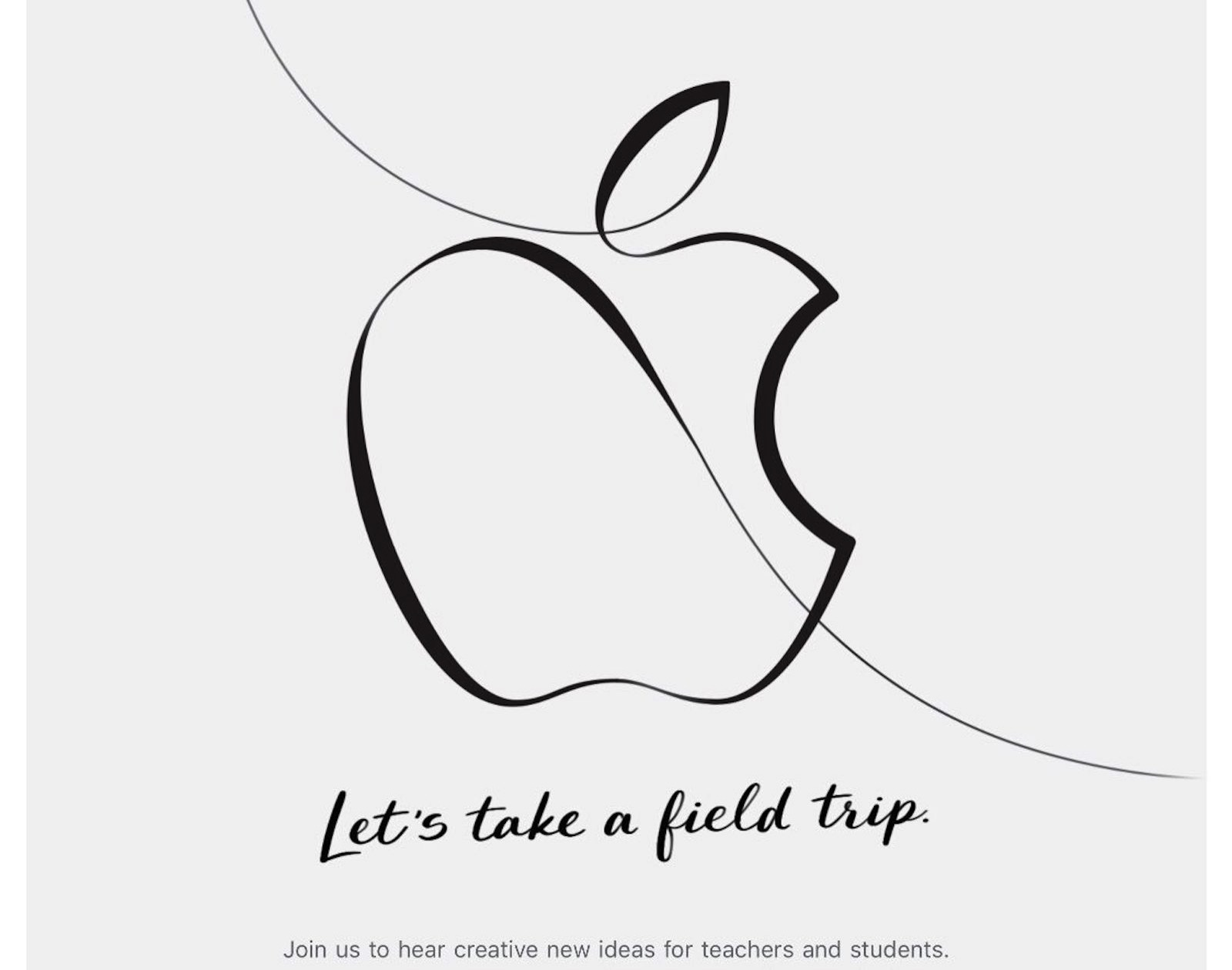 Apple Special March Event 2018