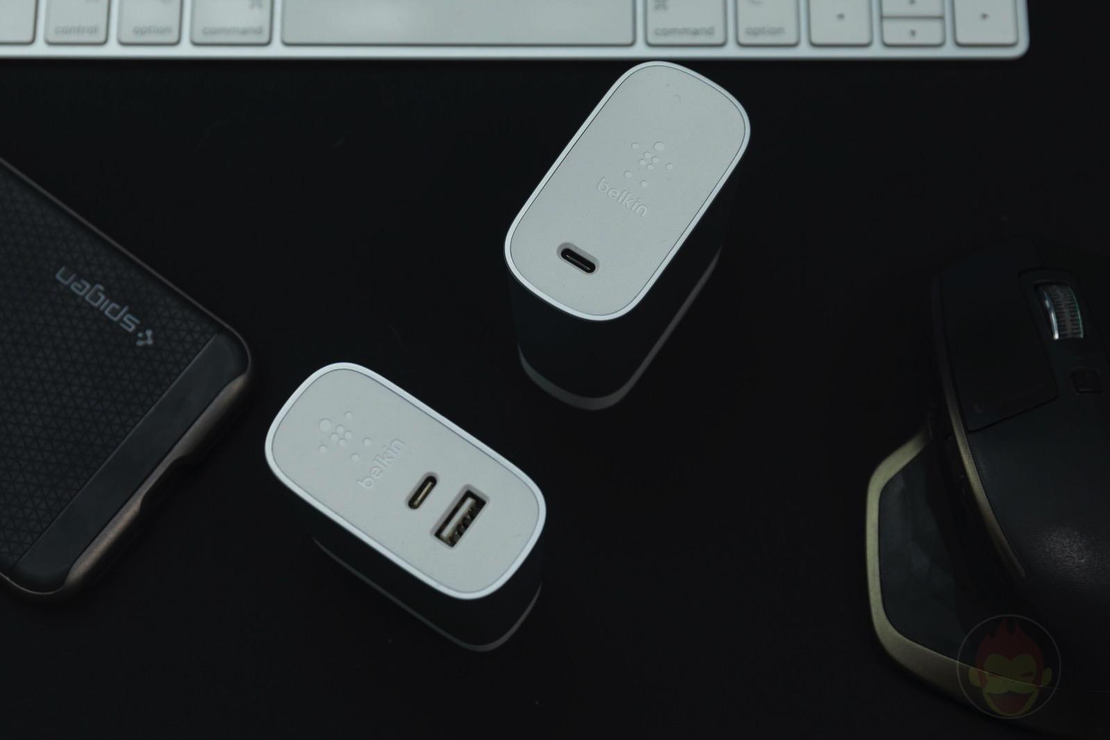 Belkin USB C Charger 45W 27W 01