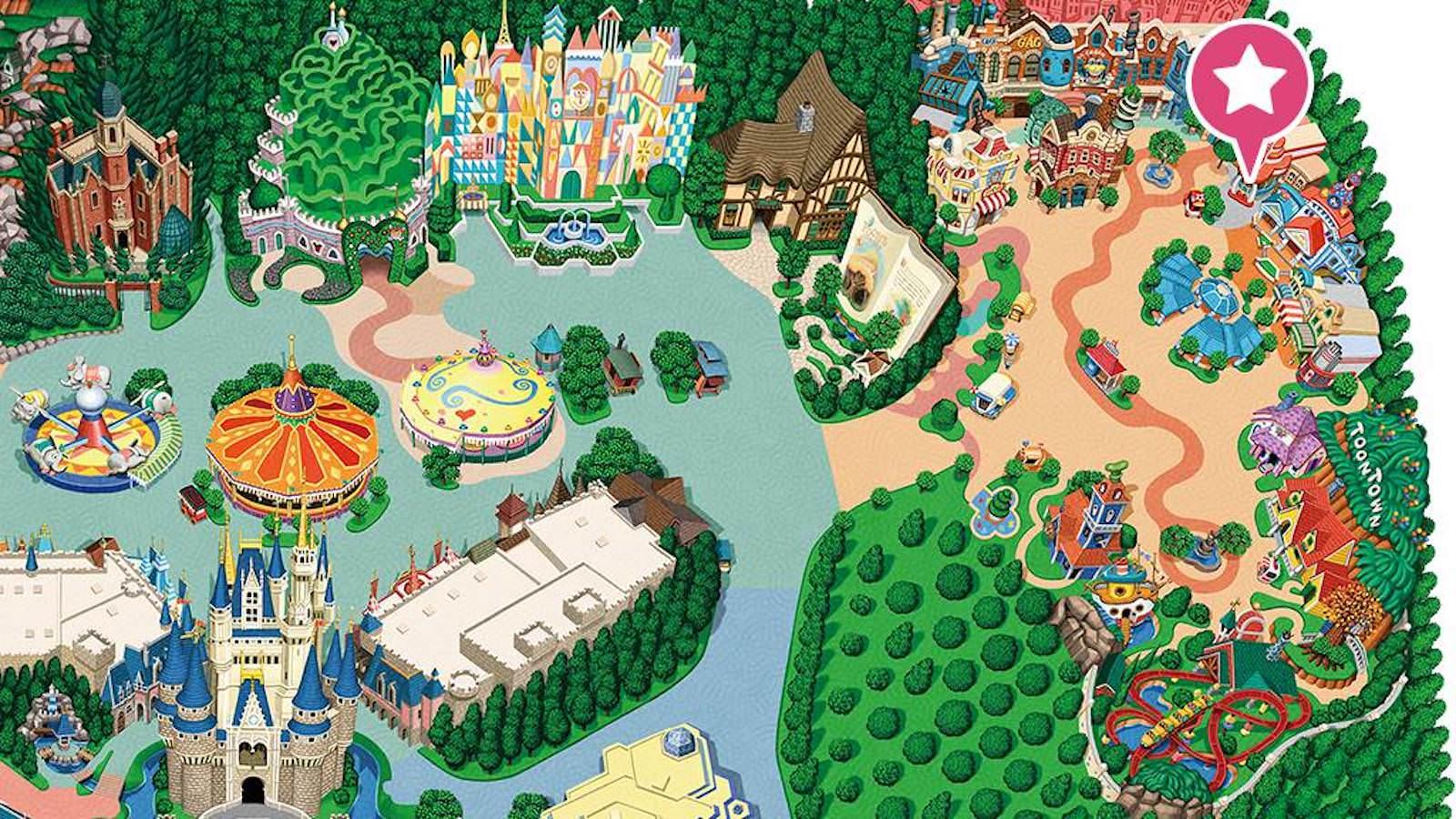 Disney Land Baby Center ToonTown