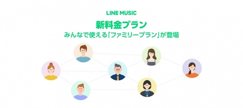 LINE MUSIC Family Plan