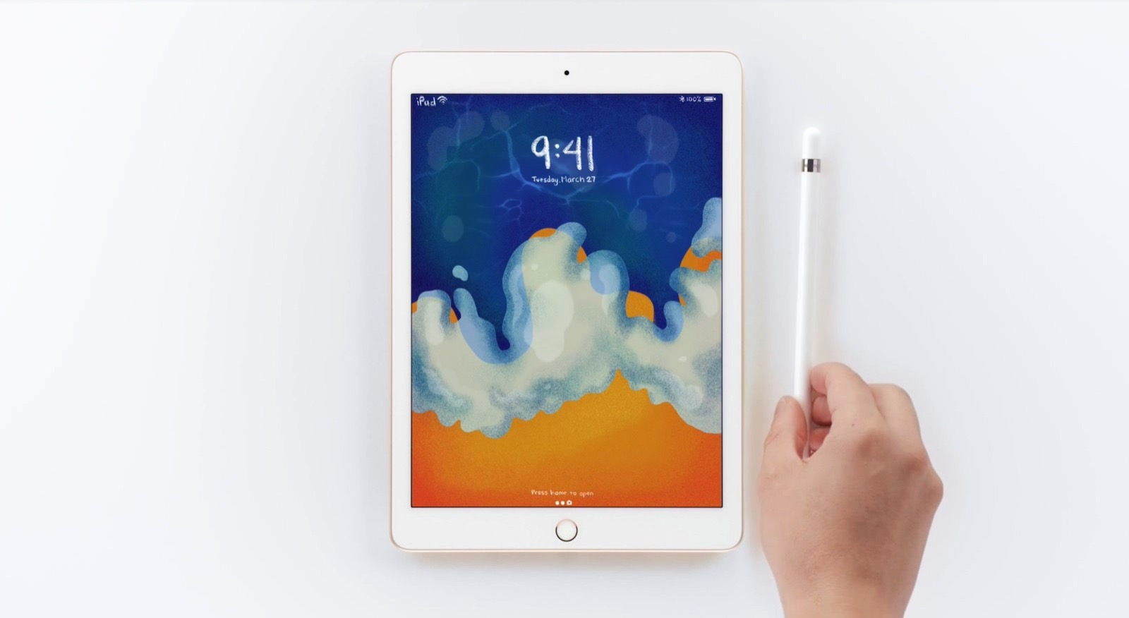 New iPad with Apple Pencil Support