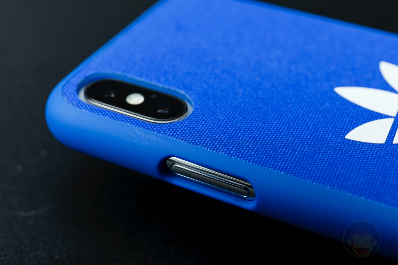 Adicolor Snap Case iPhoneX blue 05