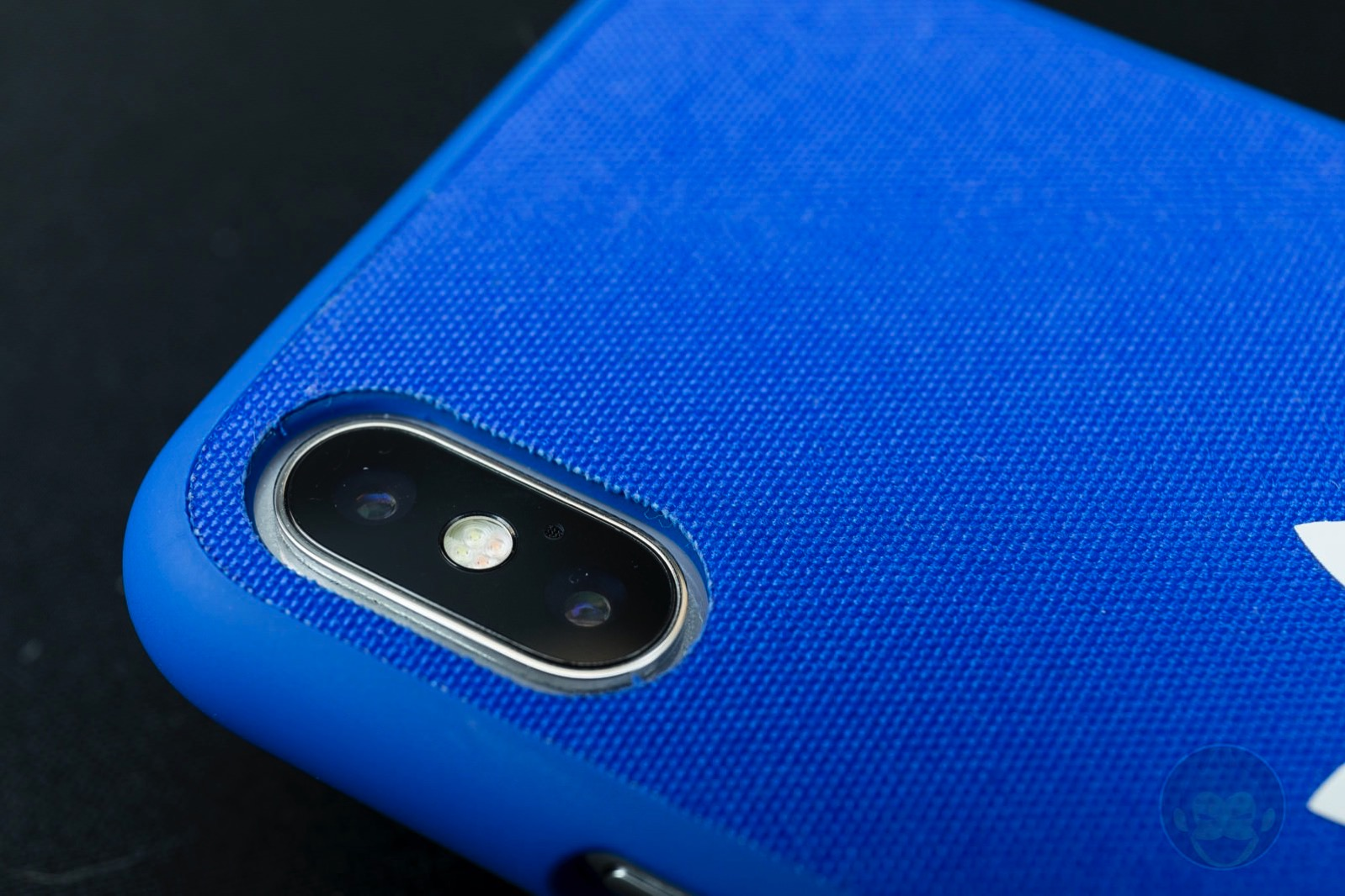 Adicolor Snap Case iPhoneX blue 06