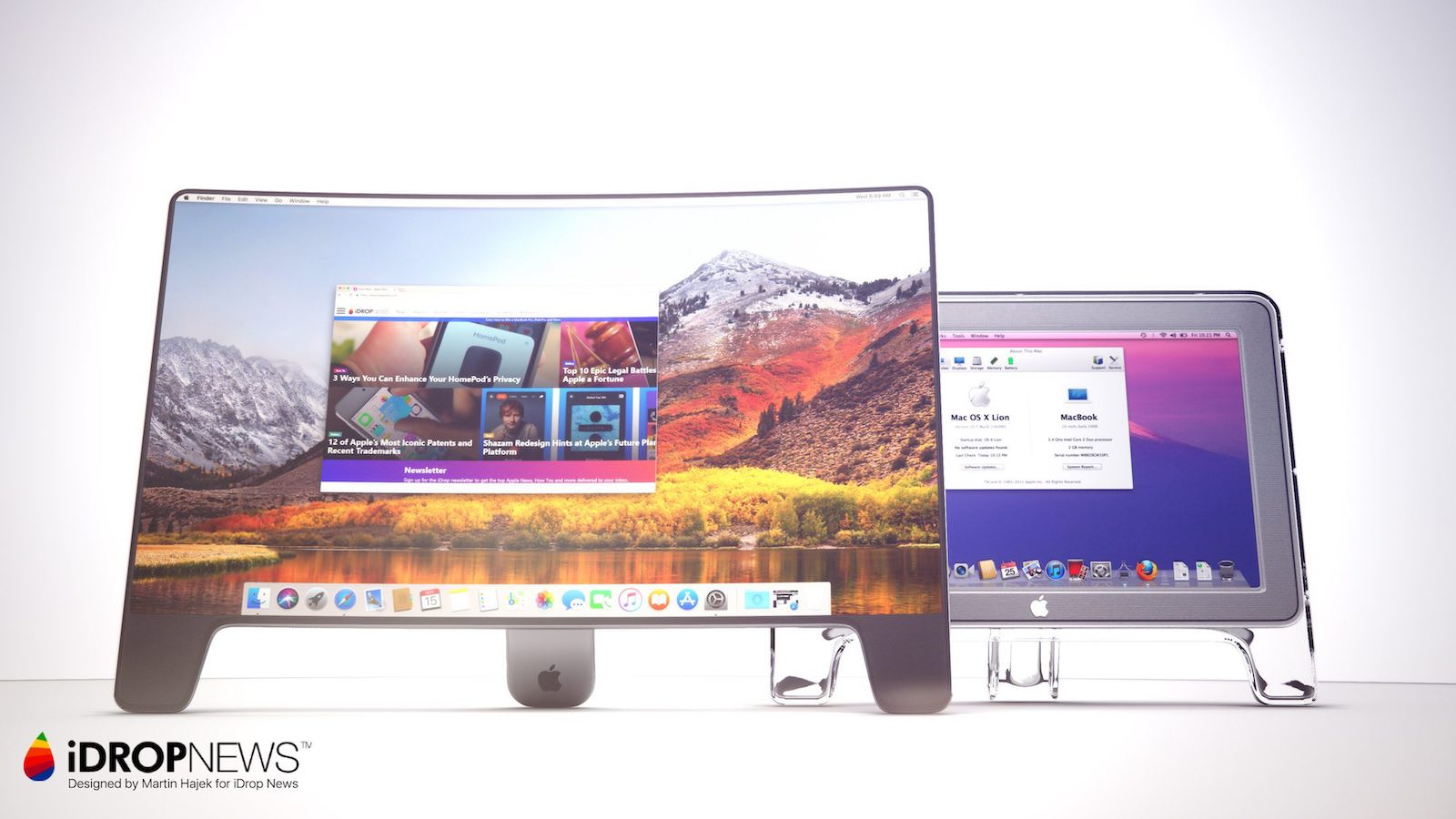 IDrop News 20th Anniversary Apple Studio Display Monitor Concept 2