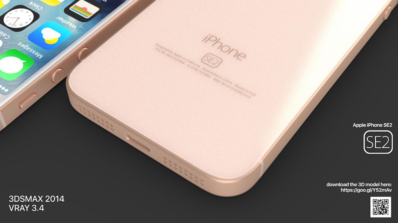 Iphone se2 martin hajek concept image 3