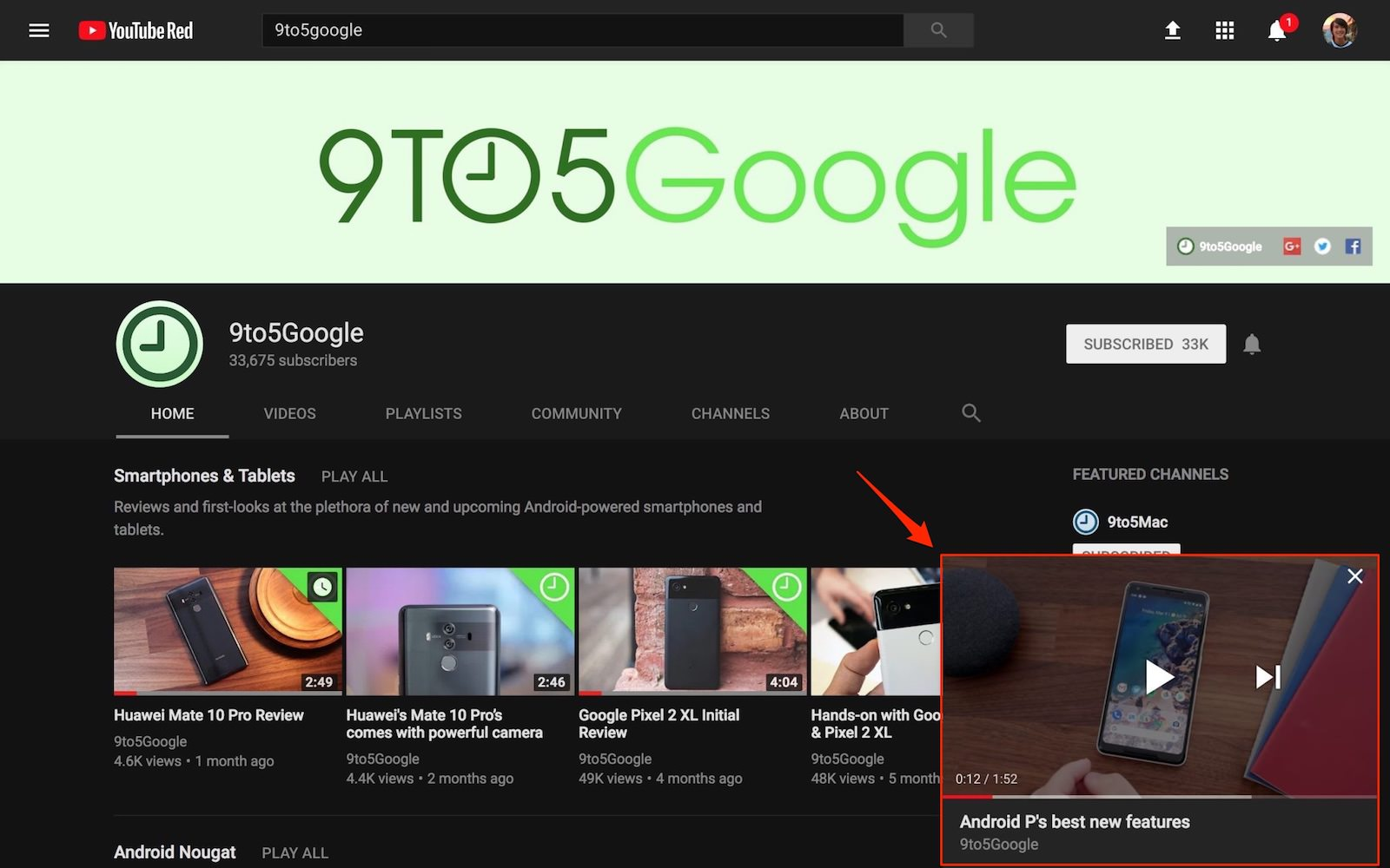 Youtube pip 3 2