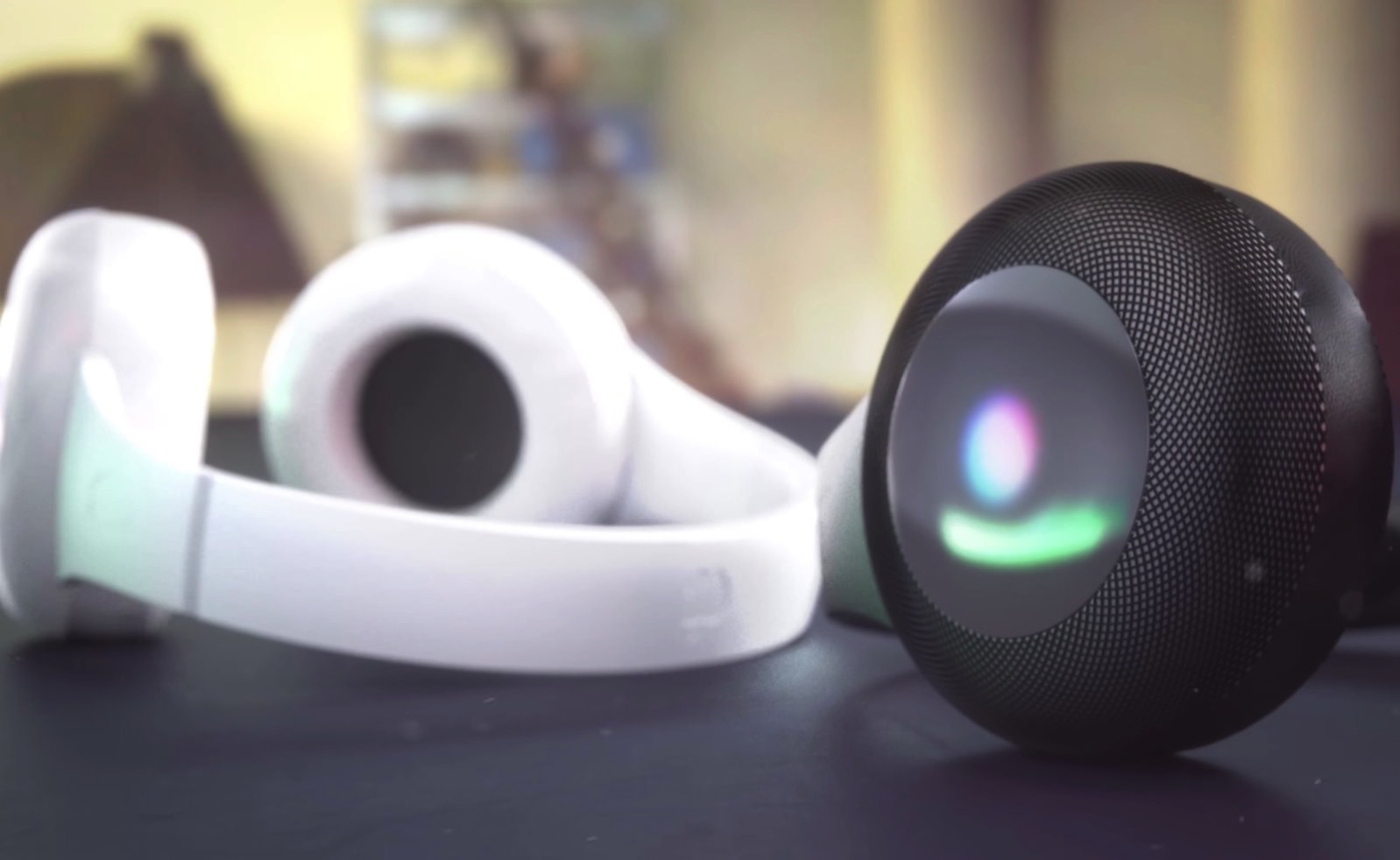 Apple Over Ear Headphones with Siri integration 03