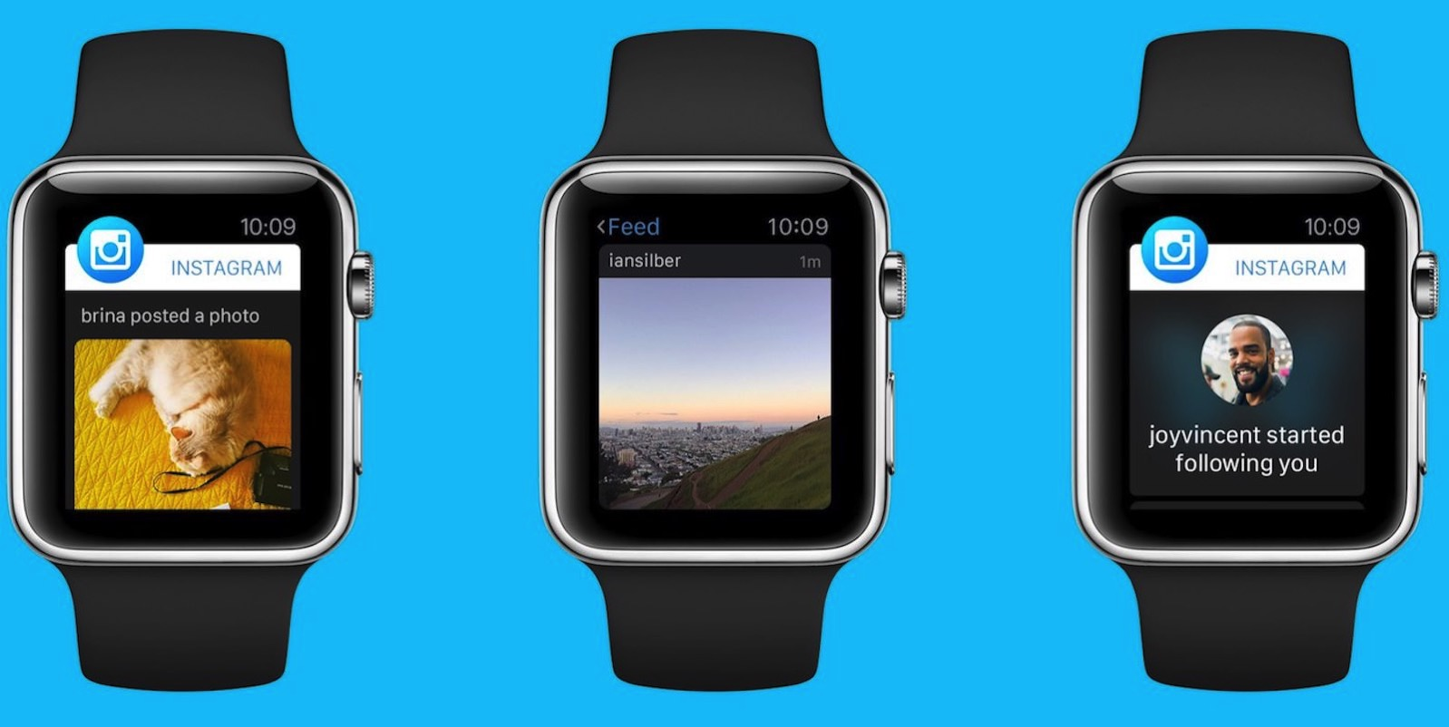 Apple Watch Application Instagram