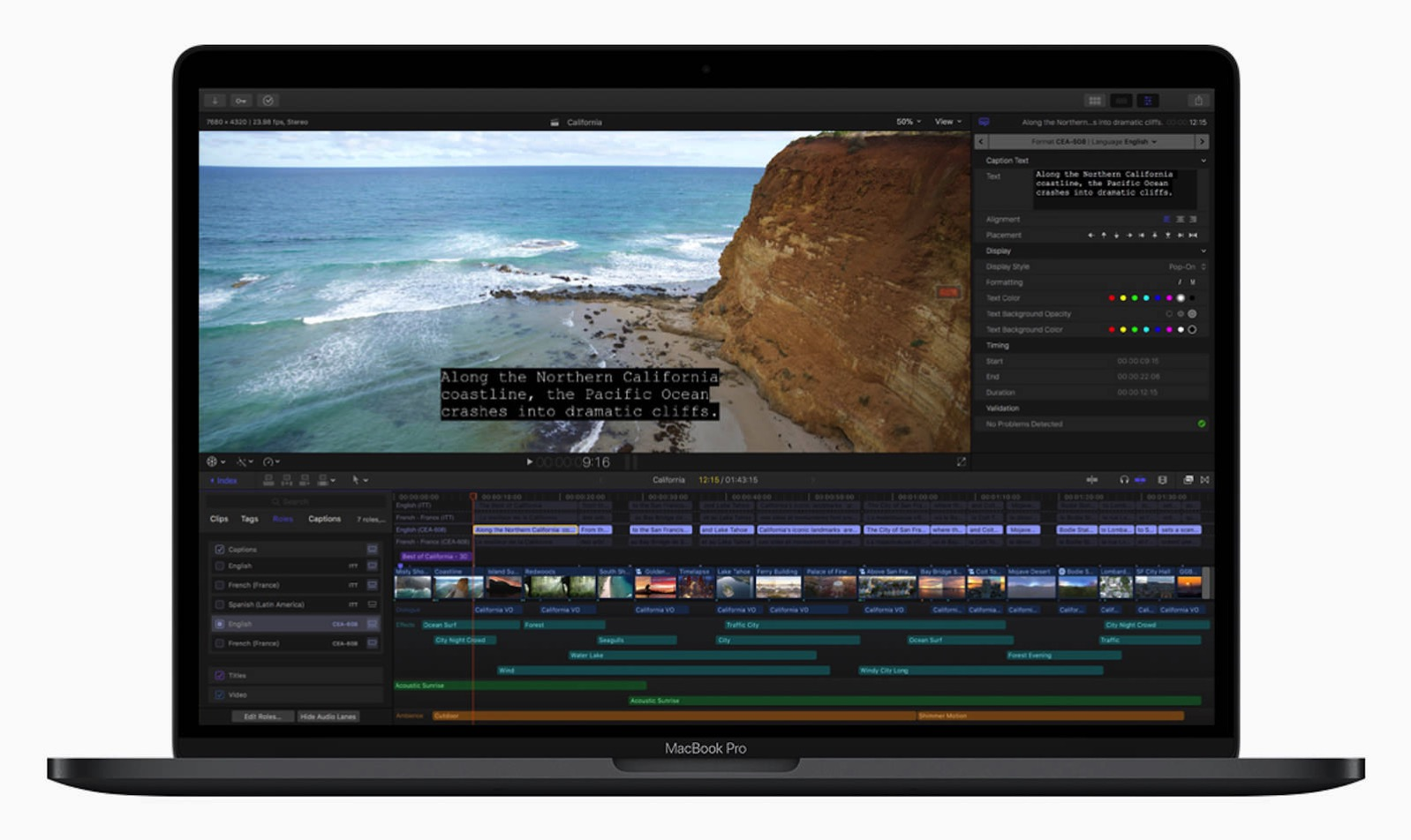 Final Cut Pro Closed Captions 04052018