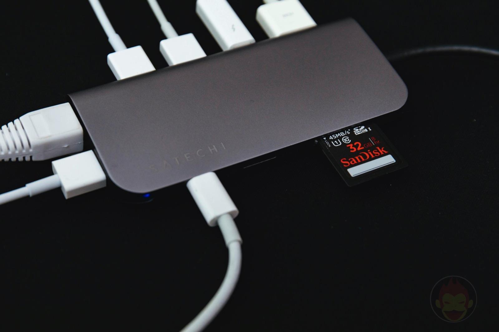 Satechi Aluminium TypeC Multimedia Adapter 4KHDMI MiniDisplayPort 04
