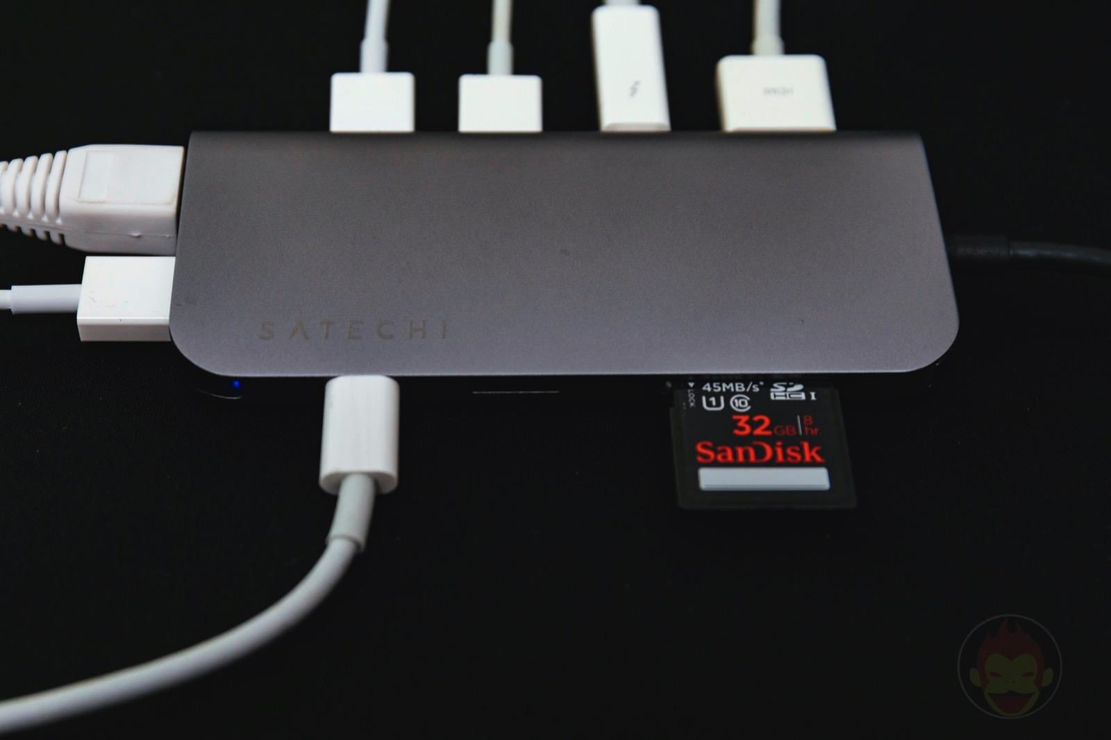 Satechi Aluminium TypeC Multimedia Adapter 4KHDMI MiniDisplayPort 06