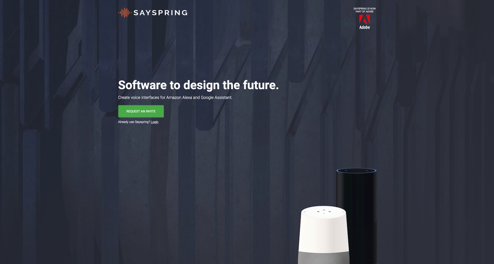 SaySpring aquired by Adobe
