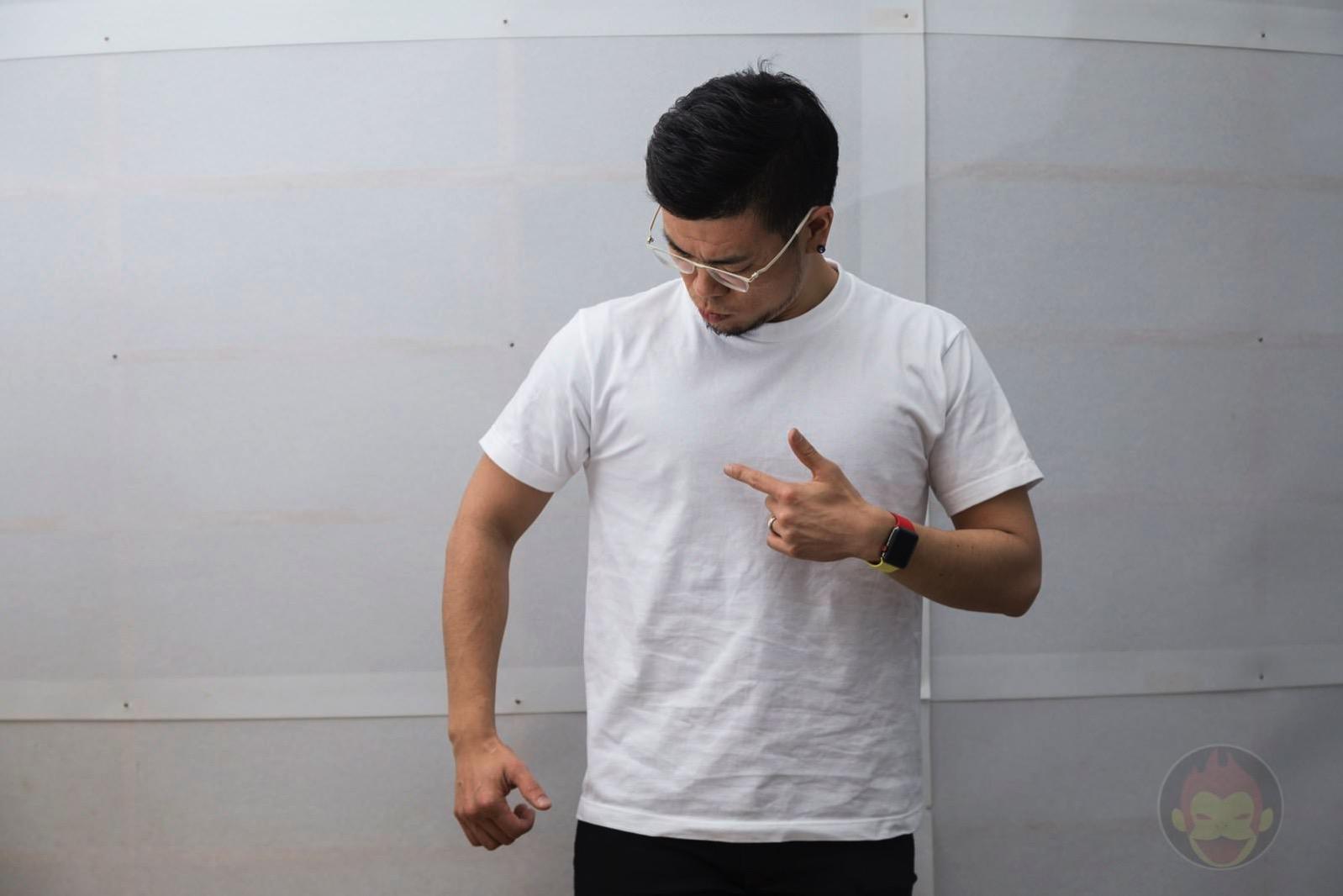 白いTシャツを着ると乳首が目立ちすぎる件