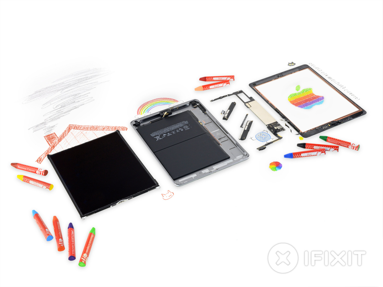 IFixit iPad 6th gen teardown 1