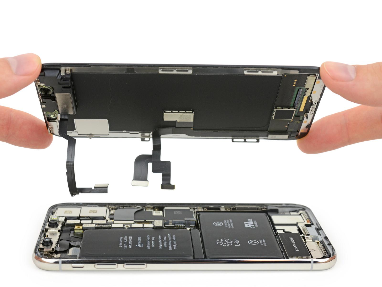 Iphone x display ifixit